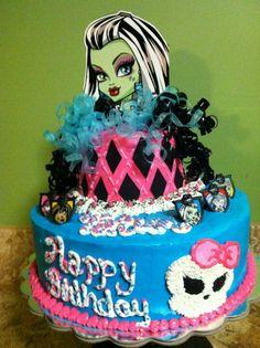 Monster High Cake-