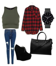 """""""School outfit#2"""" by elusiin ❤ liked on Polyvore featuring Onzie, Madewell, Forever Link, Paul & Joe and The Horse"""
