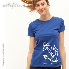 """""""Anchor"""" T-shirt. To sail where you please. By ailofiu tees"""