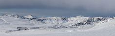 Mountains near Vik. - Snow capped mountains near Vik, Iceland. Iceland, Mount Everest, Snow, Mountains, Nature, Travel, Ice Land, Naturaleza, Viajes
