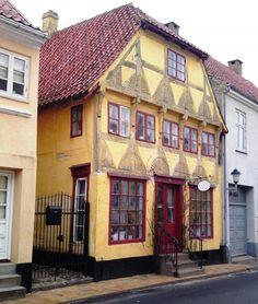 Assens, Korsgade 11 - 1001 fortællinger om Fyn, Danmark #visitfyn