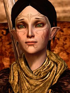 Merrill - Dragon Age 2 -   She is such a little sweetie!  How can anyone not like her?