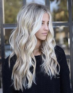 braid updo Long blonde hair with wand curl.Long blonde hair with wand curl. Blonde Hair Looks, Brown Blonde Hair, Platinum Blonde Hair, Curled Blonde Hair, Light Blonde Hair, Blonde Waves, Cream Blonde Hair, Long Blonde Curls, Blonde Brunette