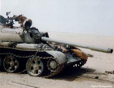 Iraqi T-55 Tank, Gulf War 1991