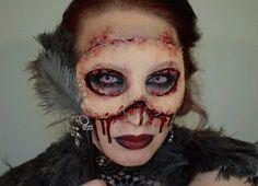 cool-gif-makeup-mask-skin-horror-Halloween