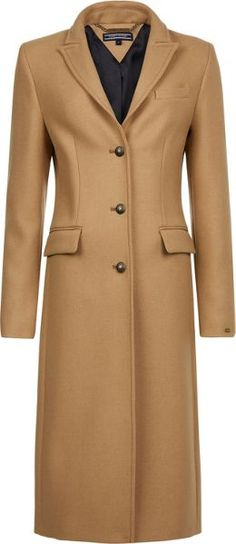 f3d6c9f23c756 Tommy Hilfiger Tommy Hilfiger Belle Long Wool Coat - House of Fraser