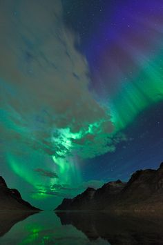 Northern Lights, as seen from Norway