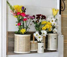 Plechovky sú ideálnym materiálom pre domácich kutilov. Vdýchnúť nový život do odpadu môže každý, kto neváha používať svoju fantáziu a tvorivosť. Vyrobte si rôzne nádoby, kvetináče a...