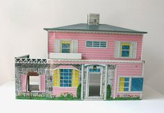Pink Tin Dollhouse