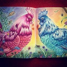 #kerbyrosanes #doodle #outsidethebox #fabercastellpolychromos #doodleart #animorphia