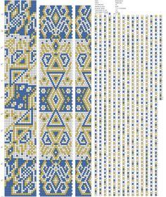 Рисуем схемы для жгутов из бисера, вышивки и др.'s photos – 1,062 photos | VK