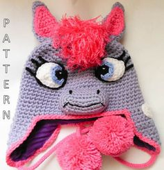 Hey, I found this really awesome Etsy listing at http://www.etsy.com/listing/153876675/pony-crochet-hat-pattern