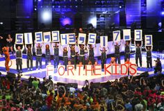 $13,343,517.33 raised FOR THE KIDS at Penn State THON 2014.   WE ARE. . . Penn State FOREVER! <3!