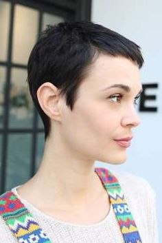 A Jean Seberg-inspired pixie cut.Salon Benjamin just opened its first Downtown…