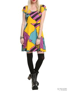 I want this dress! Sally - Nightmare Before Christmas Dress