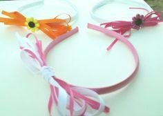 Girls headbands by LoveandLifeCreations on Etsy