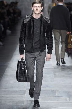 Fendi Men's RTW Fall 2015 - #mens #fashion