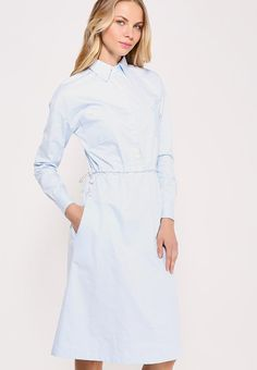 b7274dd2b71 Платье рубашка голубая в магазине «KM Design Laboratory» на Ламбада-маркете