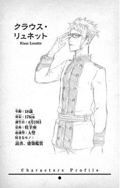 Black Clover characters profile: Klaus Lunette.