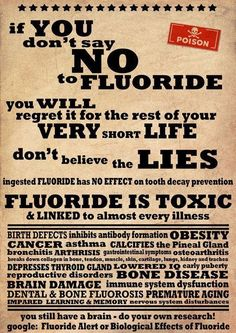 Modere understands the danger of fluoride in our water system and in our toothpaste.  Find out and research this information for yourself.  While you are at it, try our fluoride free toothpaste and see what you think..... You will find more info on:  www.modere.com/6w7y3g