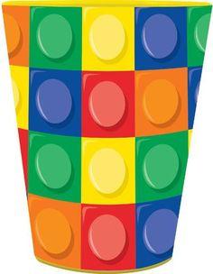 Building Block Party Favor Cup