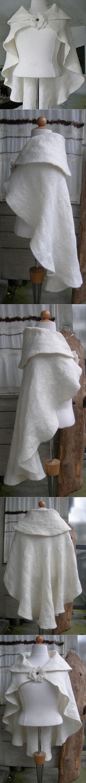 Vilt, Neuchi Nakama Vilt, nice felt white cape