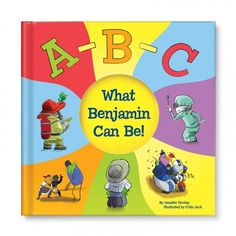 Image of ABC What I Can Be! Personalized Book