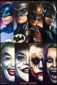 The Batmen & The Jokersby Ben Jeffery