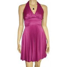 Jane Norman Fuchsia Marilyn Monroe Dress. Sizes 8-16