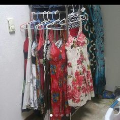 Summer Dress Collection :( Im definitely not rockin the body now that i was last summer :( 4 huge closets, and its all gotta go to upgrade in sizes..  With a hip replacement surgery only 1 month away.. Please help sell these items ive adored so that i can  get new ones that will fit. Derek Heart Dresses Maxi