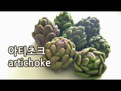 앙금플라워 아티초크 artichoke ♡kidney bean paste flower - YouTube