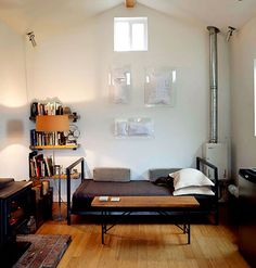 From garage to dream home #arhitecture #bathroom #bedroom #DIY #furniture #home #interiors #living room #small spaces #decoration