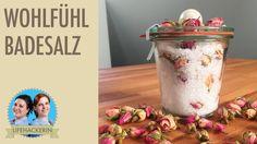 Rosen Badesalz | Badesalz mit Rosenblüten | DIY Geschenk