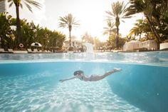 Underwater Pool Photography