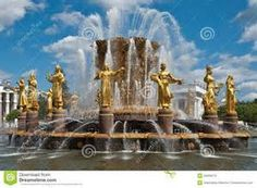 Famous Landmarks in Moscow Russia