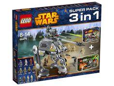 LEGO STAR WARS 66479 SUPER PACK 3w1 (75043, 75035, 75015)