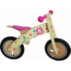 Buy Kiddimoto Kurve Balance Bike (Flower) from our Ride Ons range - Tesco.com