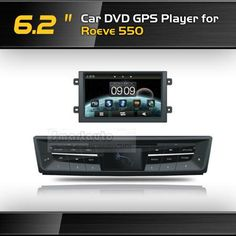Автомобильный DVD плеер OEM 6,2 DVD GPS ROEWE 550 iPod BT USB SD FM, :  — 62284 руб. —