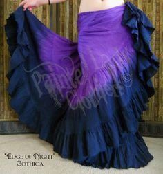 """Edge of Night"" 25 Yard Gothica Petticoat Skirt.  You can order yours here:  http://www.paintedladyemporium.com/Shop-Here.html"