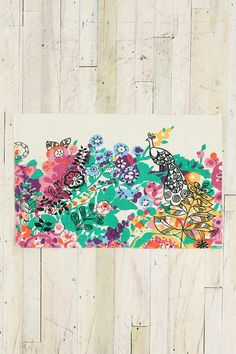 as a wall hanging - love colors and graphic