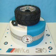 Motorcycle Birthday Cakes, Motorcycle Cake, Birthday Cake For Brother, Birthday Cakes For Men, Happy Birthday, Car Cakes For Men, Cakes For Boys, Bmw Cake, Tire Cake