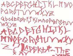 Cute Graffiti Alphabet Fonts Pink Color Cute Graffiti Alphabet Fonts ...