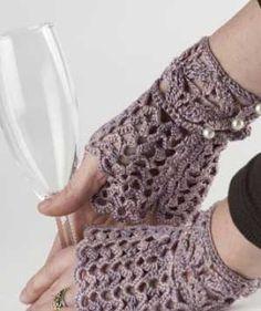 Con l'uncinetto si possono creare accessori davvero eleganti, adatti anche per un matrimonio