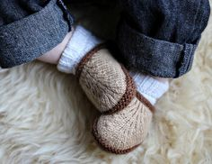 """SO CUTE. Socks and """"slippers"""" all in one!"""