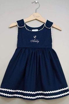 Top Newest Kids Summer Casual dresses Designs Girls Frock Design, Kids Frocks Design, Baby Frocks Designs, Baby Dress Design, Baby Girl Frocks, Frocks For Girls, Toddler Girl Dresses, Little Girl Dresses, Kids Dress Wear