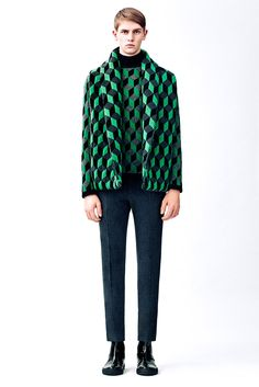 The Latest Christopher Kane Lookbook Reveals Geometric Prints #fashion trendhunter.com