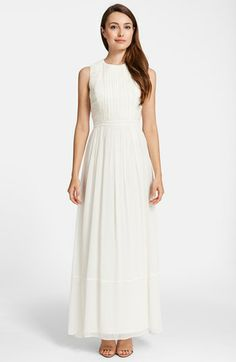 Cynthia Steffe 'Antonia' Silk Maxi Dress available at #Nordstrom