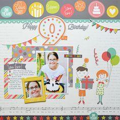 Happy+9th+Birthday+**Simple+Stories** - Scrapbook.com