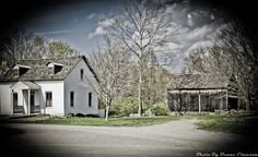 Historical Village at Faust Park. Faust Park, Background Ideas, Cabin, Mansions, House Styles, Photography, Free, Home Decor, Photograph