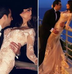 Romantic lace long dress-wedding dress- bride-bridal-chic evening dress- engagement-henna- söz nişan kına gecesi- abiye-prom- gece elbisesi- trendy- dantel- ekru-white-